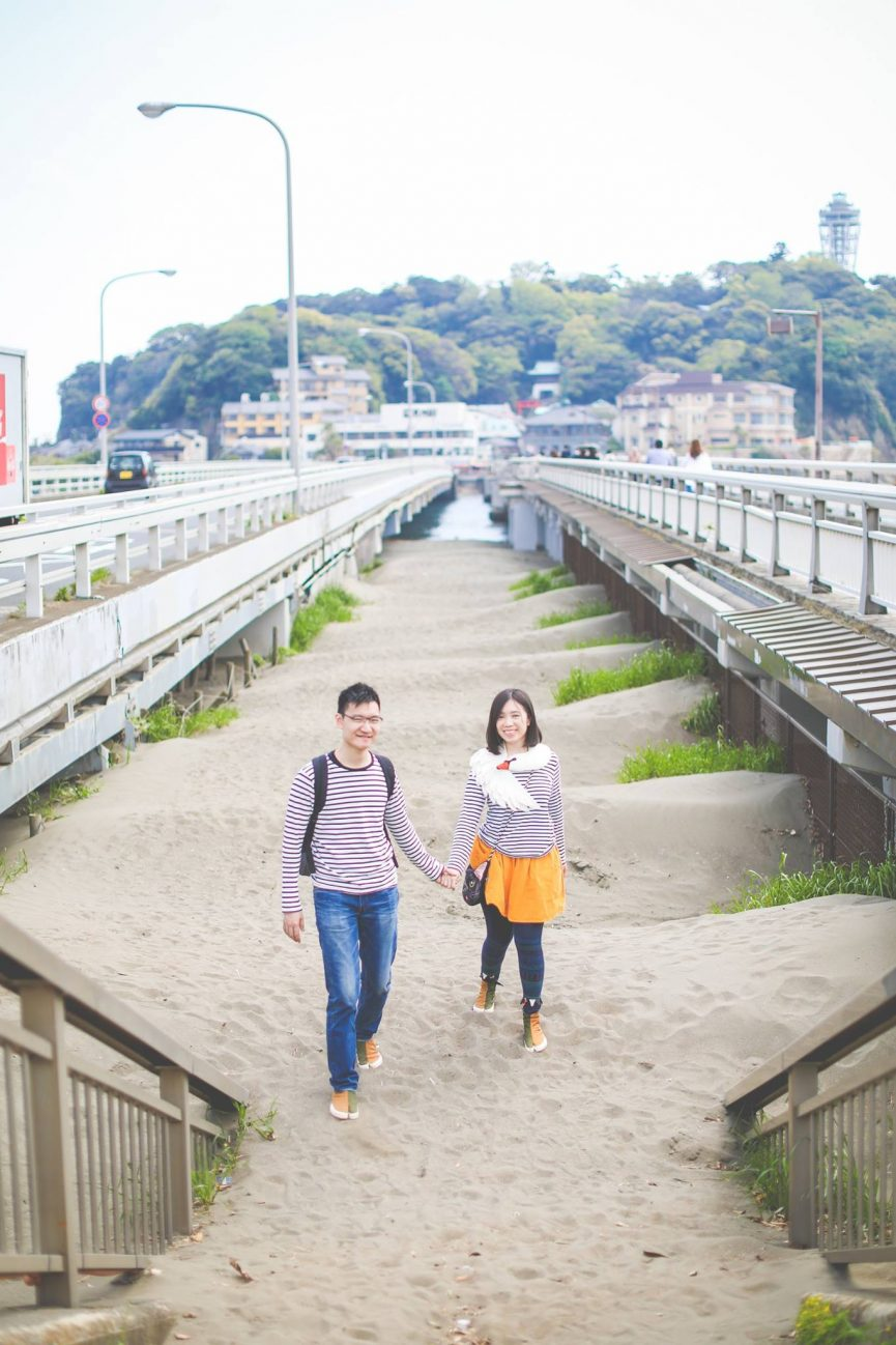 Kamakura, Enoshima,Yokohama, Japanese, Photographer, Wedding, Couple photo