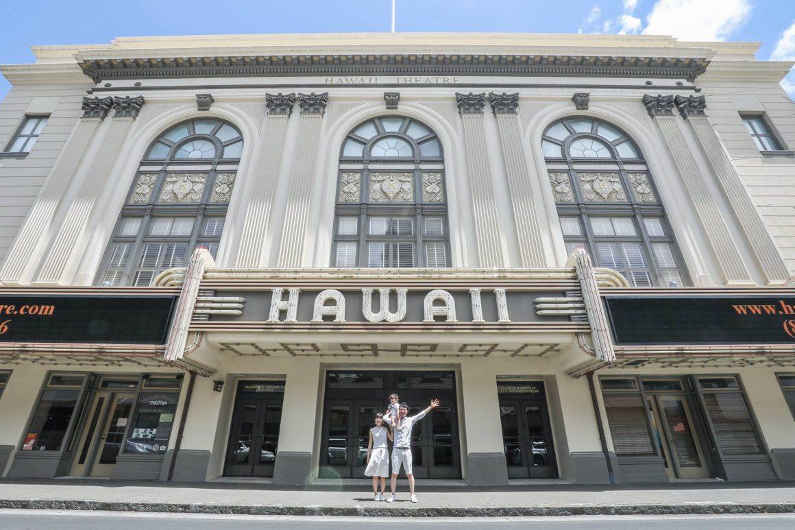 ハワイ旅行で家族撮影[ワイキキエリア]